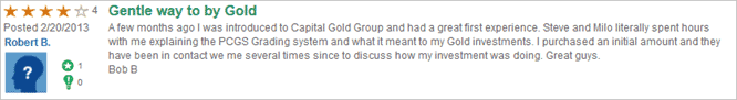 capital gold trustlink customer review 3